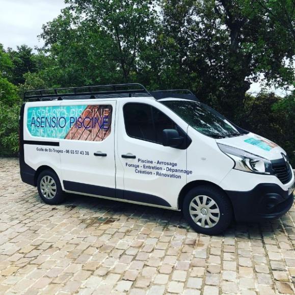 camion ASENSIO PISCINE