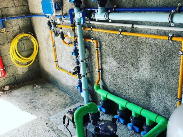 Création d'une filtration piscine